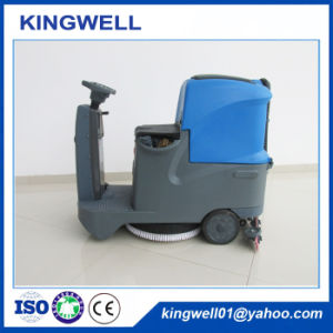 Smart Ride-on Floor Scrubber with Battery (KW-X6) pictures & photos