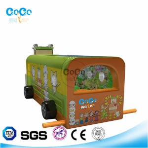 Cocowater Design Inflatable School Bus Theme Bouncer LG9012 pictures & photos
