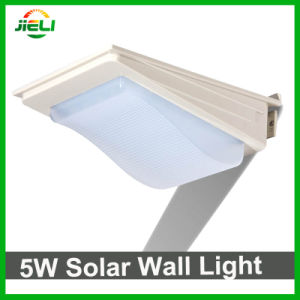Outdoor Waterproof 5W SMD2835 Solar LED Wall Light pictures & photos