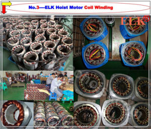 Hoist Motor Coil Winding Used on 2.5ton Electric Chain Hoist pictures & photos