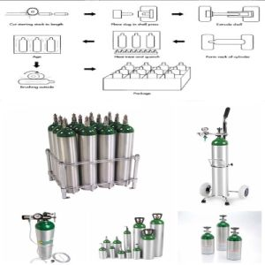 Top Criterion Portable Industrial Oxygen Aluminum Gas Cylinder pictures & photos