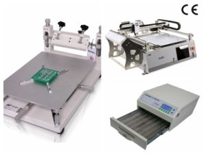 SMT Production Line Neoden3V, Stencil Printer, Reflow Oven pictures & photos