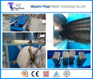 Plastic Pipe Corrugator, Corrugated Pipe Extrusion Line, Corrugated Pipe Machinery pictures & photos