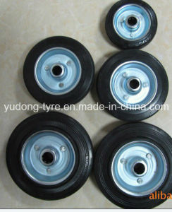 Solid Rubber Wheel pictures & photos