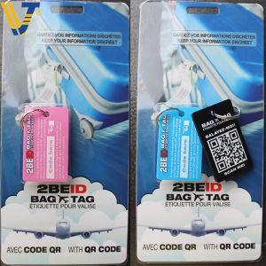 PVC Parcel Tricking Luggage Tag