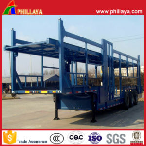 2 Axles Car Carrier Truck for Car Transportation pictures & photos