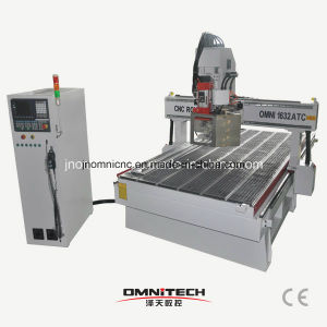 Customer Made 3 Axis 1632 CNC Router with Auto Tool Changer pictures & photos