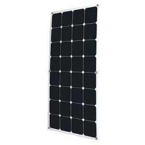 Solar Street Lights Sunpower Solar Cell Cutting 100watt Semi Flexible Solar Panel