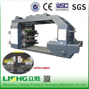 4 Colour High Speed Paper Bag Flexo Printing Machine pictures & photos