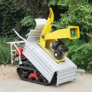 Mini Crawler Type Remote Control Dumper with Wood Shredder