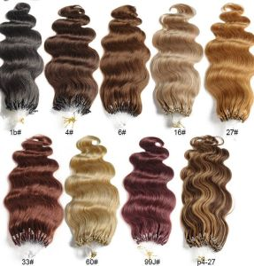 Micro Ring Loop Hair Micro Bead Hair Extension pictures & photos