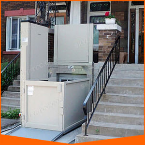 Wheel Chair Porch Lift Vertical Platform Lift pictures & photos