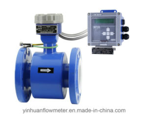 Fox Intelligent Converter Flange Divided Type Electromagnetic Flowmeter pictures & photos