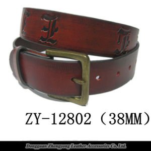 High Quality Genuine Leather Formal Belt (ZY-12802)