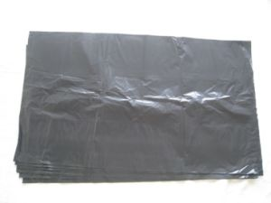LDPE Black Heavy Duty Plastic Rubbish Bag pictures & photos