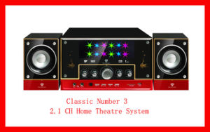 2.1 CH Home Theatre System (Classic Number 3)