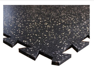 Gym/Playground Interlocking Rubber Tiles/Rubber Flooring pictures & photos