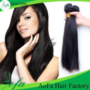 100% Raw Wholesale Unprocessed Virgin Brazilian Human Hair Extension pictures & photos