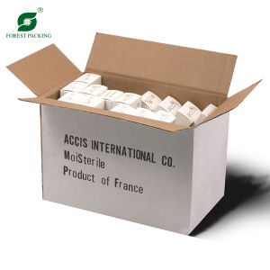 White Kraft Outside Corrugated Box pictures & photos