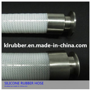 Fiber Reinforced Braided Silicone Hose for Food Production Machines pictures & photos