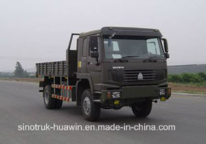 290HP HOWO 4X4 Cargo Truck pictures & photos