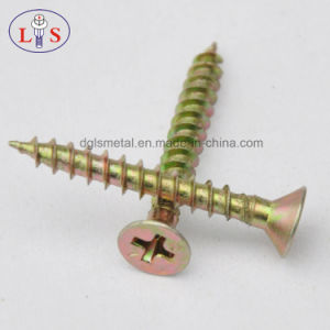 Countersunk Head Cross Drive Chipboard Screw pictures & photos