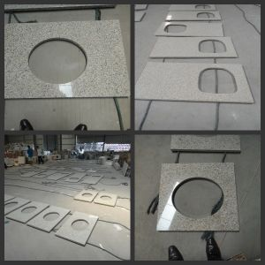 High Quality Beautiful Designed Suizhou White Granite Countertop/Vanity pictures & photos