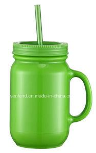 Drinkware 16oz D/W Plastic Mason Jar