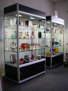 Aluminum Modular Exhibition Display Cabinet Showcase Counter Fixture (GC-DCS) pictures & photos