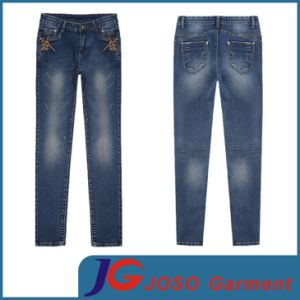 Factory Wholesale Fashion Women Jeans Trousers (JC1285) pictures & photos