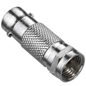 BNC Female to F Male Connector Brass &Zinc Material pictures & photos