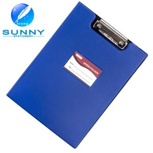 A4 Size PU/Leather Cover Clipboard with Flat Clip pictures & photos