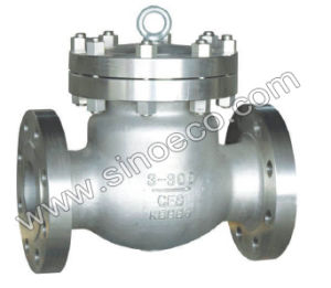 Swing Type No-Return Check Valve for Oil & Gas pictures & photos