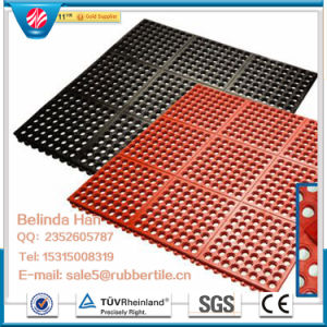 Antibacterial Floor Mat, Anti-Slip Kitchen Mats, Drainage Rubber Mat pictures & photos