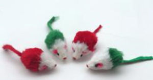 Cat Toys, Double Color Mouse pictures & photos