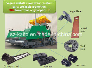 Track Shoes for Vogele S1800/1900/2100 Asphalt Paver pictures & photos