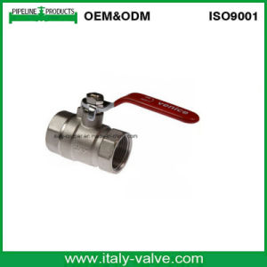 Customized Quality Forged Brass Nickel Ball Valve (AV1008) pictures & photos
