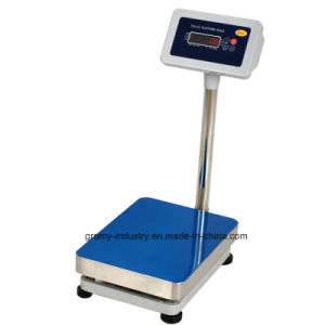30X40cm Bench Scale 150kg Digital Electronic Stainless Steel Platform Scale pictures & photos