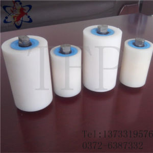 Short White Color Wear Resistance Plastic UHMWPE Roller for Conveyor Machines pictures & photos