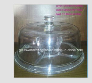 Glass Plate with Glass Cover (P-036) pictures & photos