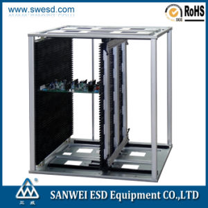 L Size SMT Antistatic ESD PCB Magazine Rack (3W-9805301E/EG) pictures & photos