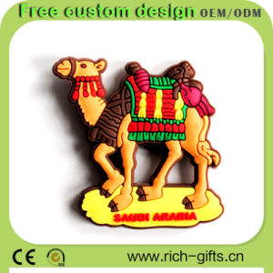 Rubber Souvenir Fridge Magnets Promotion Gifts Camel (RC-TS27)
