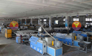 WPC Machine/WPC Foam Board Extrusion Line pictures & photos