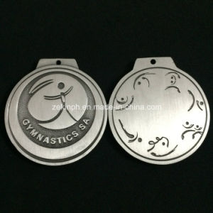 Customized Silver Round Metal Medals pictures & photos