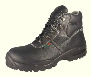 Leather Safety Shoes (SF-302) pictures & photos