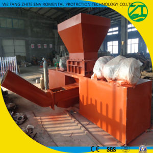 Waste Plastic Big Materials Twin Shaft Shredder pictures & photos