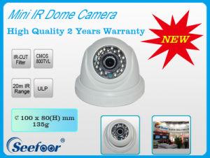 Plastic Mini Indoor IR Dome Camera (SEP14M11)