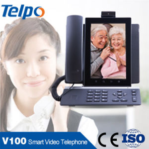 Best Price Telpo Skype WiFi Android VoIP Phone with Screen pictures & photos