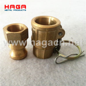 One Single Locking Handle Brass Camlock Coupling pictures & photos