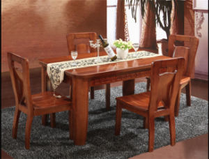 New Style Solid Wood Dining Furniture Set pictures & photos